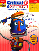 Critical and Creative Thinking Activities-Grade 2