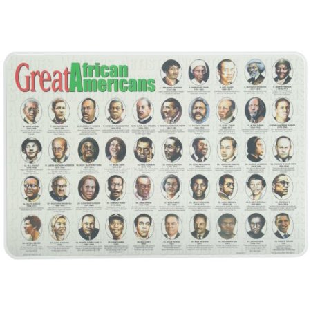 Learning African Americans Placemat