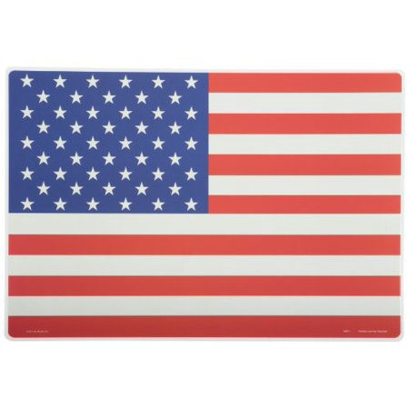 Learning American Flag Placemat