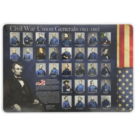 Learning Civil War Generals Placemat