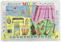 Learning Music Placemat