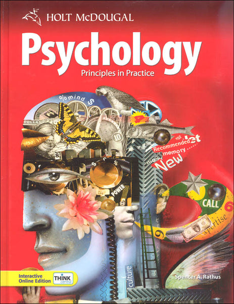 Holt McDougal Psychology Homeschool Package