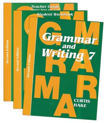 Grammar & Writing Homeschool Kit Grade 7 2nd Edition