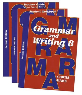 Grammar & Writing Homeschool Kit Grade 8 2nd Edition