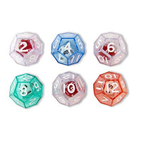 12-Sided Double Die Set of 6