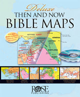 Deluxe Then and Now Bible Map Book w/ Clear Plastic Overlays +CD