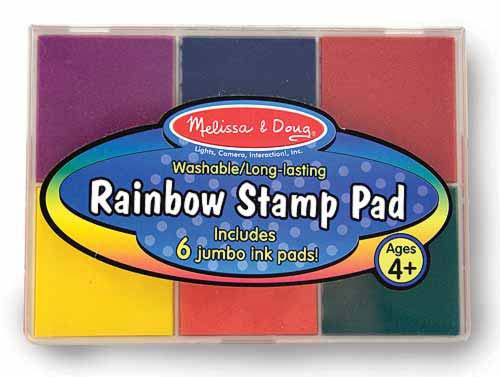 Primary Rainbow Stamp Pad