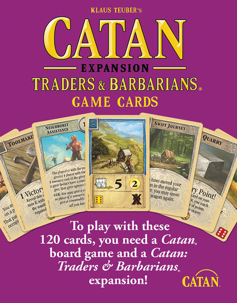 Catan Expansion: Traders & Barbarians Game Cards
