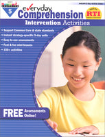 Everyday Comprehension Intervention Activities Grade 5