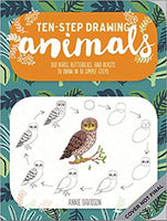 Animals (Ten-Step Drawing): Learn to Draw in Ten Simple Steps