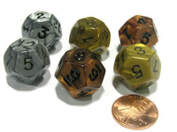 12-Sided Olympic Pearlized Die