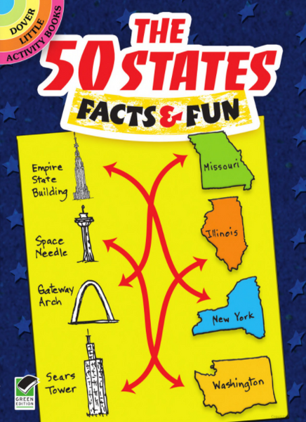 The 50 States Facts & Fun Activity Book