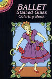 Ballet Stained Glass Coloring Book