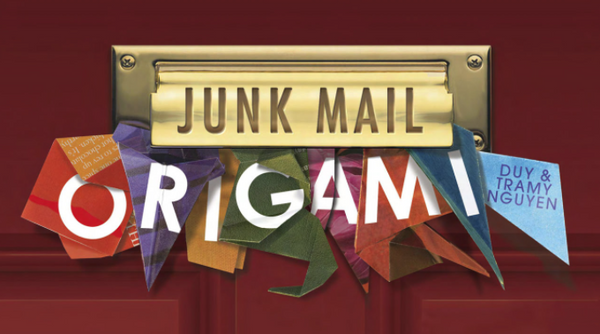 Junk Mail Origami