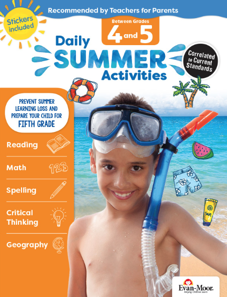 Daily Summer Activities Grade 4-5