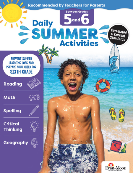 Daily Summer Activities Grade 5-6