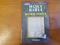 Holy Bible Word-Finds Volume 5