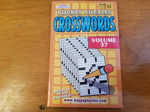 Pocket Puzzles Crosswords Volume 37