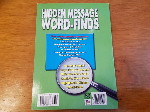 Hidden Message Word-Find Volume 19
