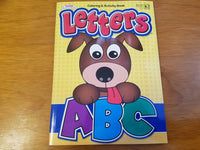 Coloring & Activity Book: Letters ABC