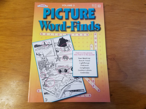 Picture Word-Finds Volume 3