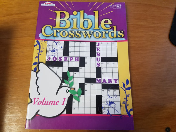 Bible Crosswords Volume 1