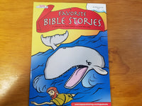 Favorite Bible Stories 2: A Collection of Bible Stories to Read and Color