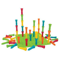 Deluxe Tall Satckers Pegs and Pe