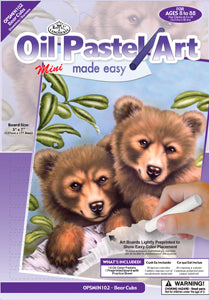 Oil Pastel Made Easy: Bear Cubs