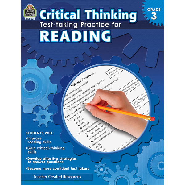 Critical Thinking: Test-taking Practice for Reading (Grade 3)