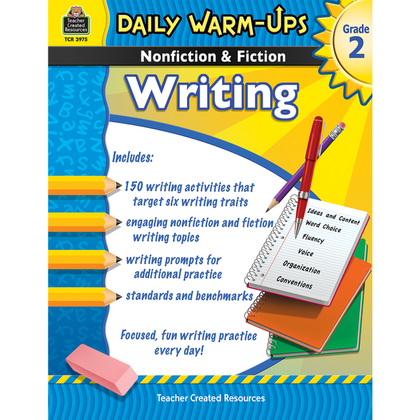 Daily Warm-Ups: Nonfiction & Fiction Writing (Grade 2)