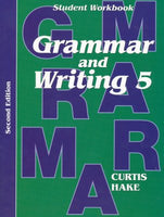 Grammar & Writing Student Workbook Grade 5 2nd Edition