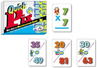 Quick Pix Not Just A Multiplication Game