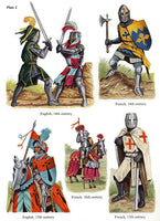 Medieval Knights Stickers