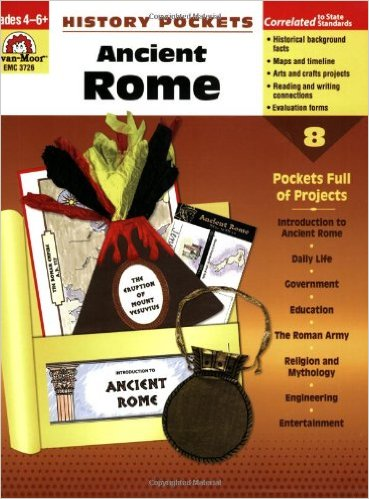 Ancient Rome History Pockets