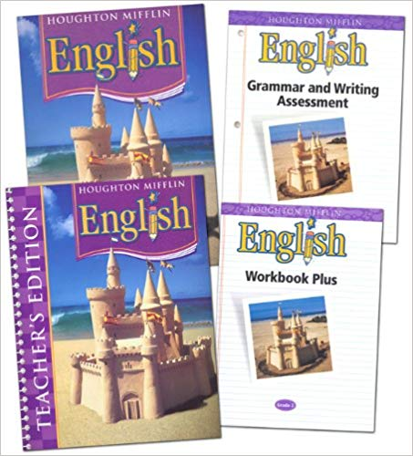Houghton Mifflin English Homeschool Package Grade 3