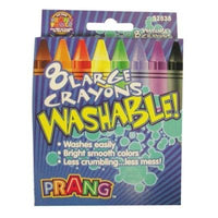 Prang Large Washable Crayons (8 count)
