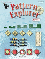 Pattern Explorer Level 1 - Pattern Problems To Develop Mathematical Reasoning (Grades 5-7)