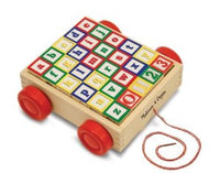 ABC/123 Blocks With Cart