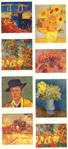 Van Gogh Photo Stickers