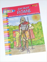Ancient Rome Color and Learn