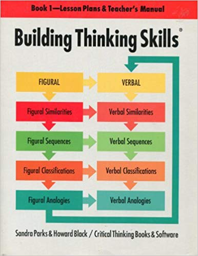 Building Thinking Skills Level 1 Teaching Manual (With Answer Guide)