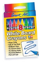 Sargent Art - 8 White Board Crayons