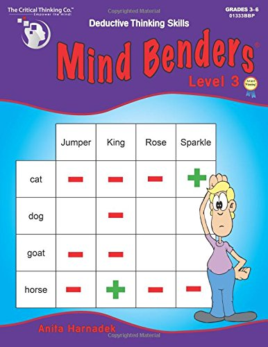 Mind Benders Levek 3 - School Workbook