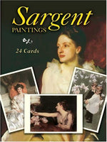 Sargent Paintings 24 Art Cards