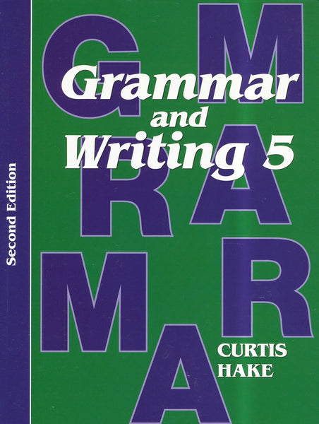 Grammar & Writing Student Textbook Grade 5 2nd Edition