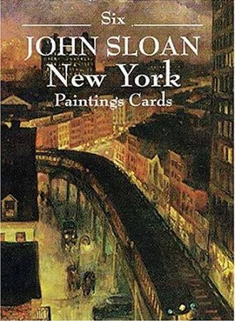 Six John Sloan New York Paintings Post Cards