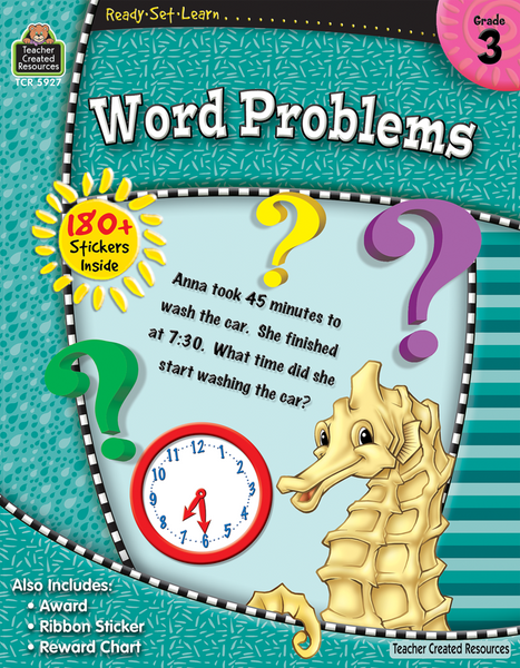 Ready-Set-Learn: Word Problems Grade 3