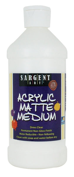 Sargent Art's 16-Ounce Acrylic Matte Medium