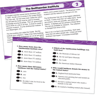 Power Pen Reading Comprehension Cards Grade 4